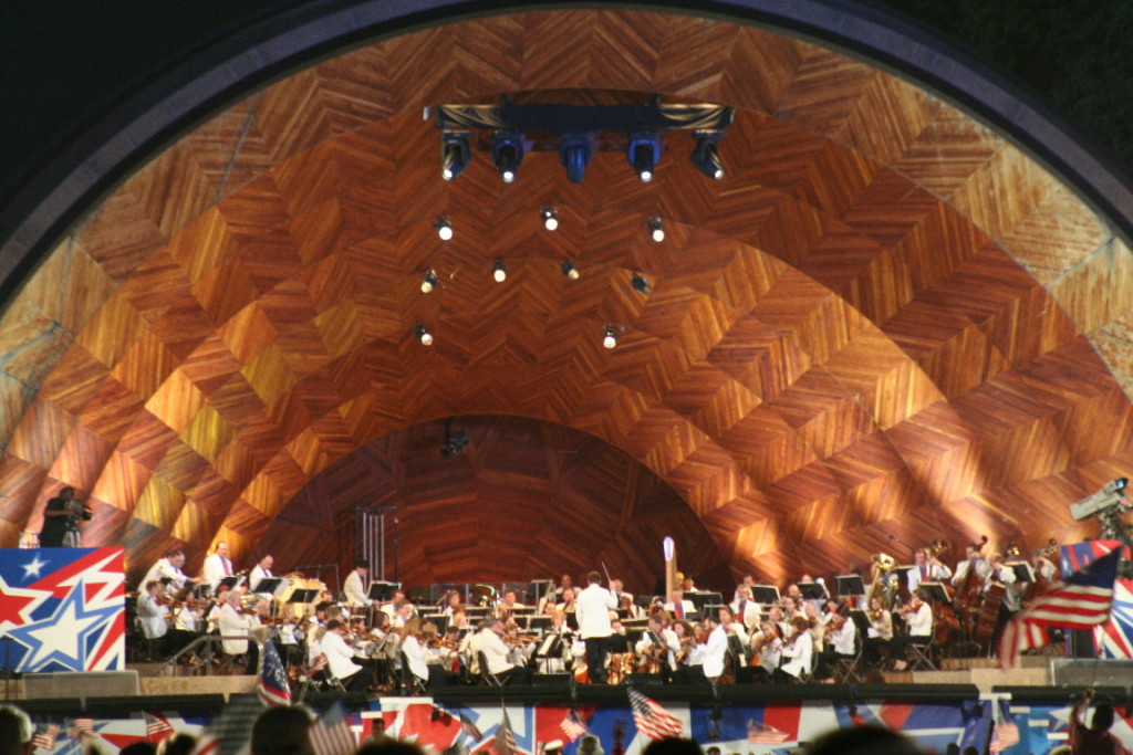 Hatch Shell on the Esplanade