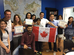 how to learn english in toronto